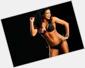 Melina black hair & hairstyles Athletic body,