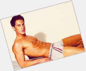Michael Trevino dark brown hair & hairstyles Athletic body,