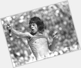 "<a href=""/hot-men/mick-jagger/is-he-married-alive-bi-good-singer-harry"">Mick Jagger</a> Slim body,  dark brown hair & hairstyles"