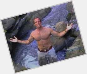 Mike Rowe light brown hair & hairstyles Athletic body,