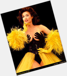 Mimi Rogers dark brown hair & hairstyles Voluptuous body,