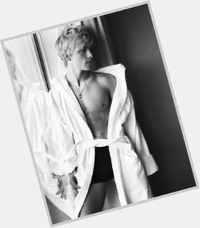 Mitch Hewer blonde hair & hairstyles Athletic body,