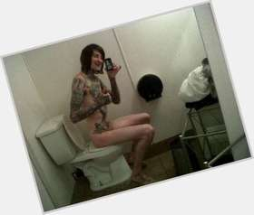 "<a href=""/hot-men/mitch-lucker/is-he-atheist-satanist-alive-christian-coma-satanic"">Mitch Lucker</a> Slim body,  dark brown hair & hairstyles"