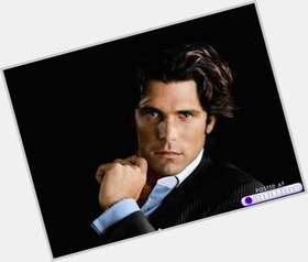 Nacho Figueras dark brown hair & hairstyles Athletic body,