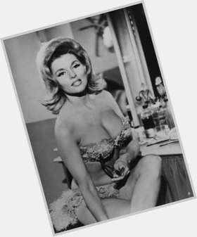 Nancy Kovack dark brown hair & hairstyles Athletic body,