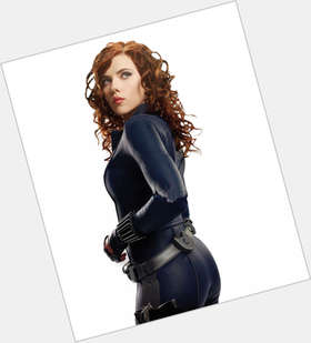 Natasha Romanoff red hair & hairstyles Athletic body,
