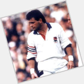 Will Carling dark brown hair & hairstyles Athletic body,