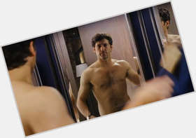 Patrick Dempsey dark brown hair & hairstyles Athletic body,