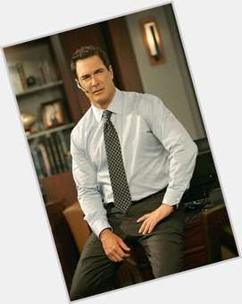 Patrick Warburton dark brown hair & hairstyles Athletic body,