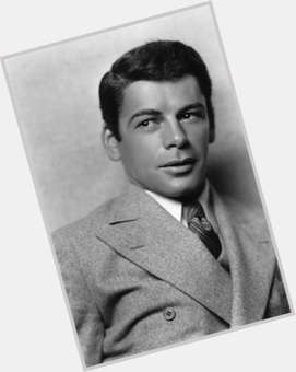 Paul Muni dark brown hair & hairstyles Athletic body,