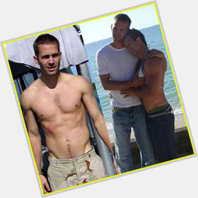 Paul Walker light brown hair & hairstyles Athletic body,