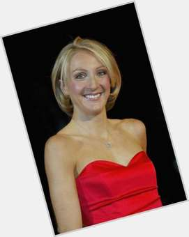 Paula Radcliffe blonde hair & hairstyles Athletic body,