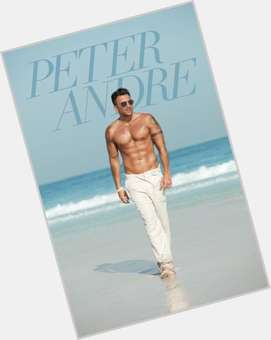 Peter Andre dark brown hair & hairstyles Athletic body,