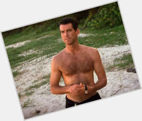 "<a href=""/hot-men/pierce-brosnan/is-he-married-still-alive-christian-related-charles"">Pierce Brosnan</a> Average body,  dark brown hair & hairstyles"