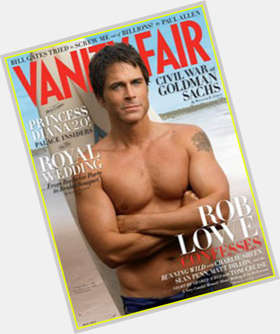 "<a href=""/hot-men/rob-lowe/is-he-married-christian-leaving-parks-and-rec"">Rob Lowe</a> Average body,  light brown hair & hairstyles"