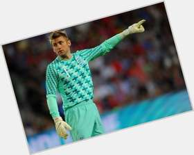 Robert Green blonde hair & hairstyles Athletic body,