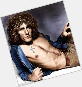 Roger Daltrey blonde hair & hairstyles Athletic body,
