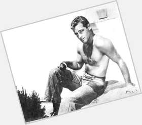 Guy Madison light brown hair & hairstyles Athletic body,