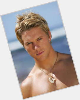 Ross Thomas blonde hair & hairstyles Athletic body,