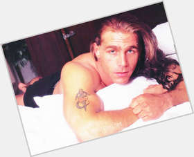 Shawn Michaels light brown hair & hairstyles Athletic body,