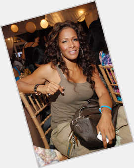 Sheree Whitfield dark brown hair & hairstyles Athletic body,