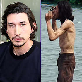 Adam Driver is Shirtless