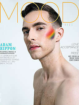 Adam Rippon is Shirtless