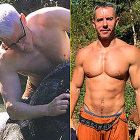 Anderson Cooper is Shirtless