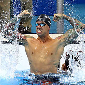 Anthony Ervin is Shirtless