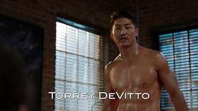 Brian Tee Shirtless