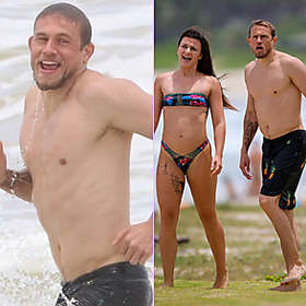 Charlie Hunnam is Shirtless