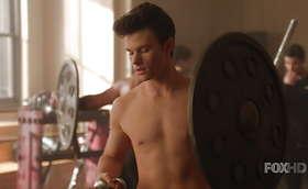 Chris Colfer, Darren Criss, & Chord Overstreet Shirtless Scene Scene in Glee Eps 5×16 & 5×20
