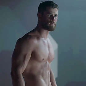 Chris Hemsworth is Shirtless