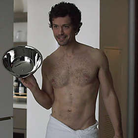 Christian Coulson is Shirtless