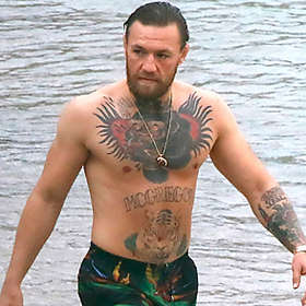 Conor McGregor is Shirtless