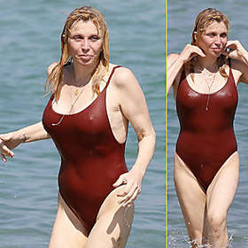 Courtney Love in Bikini