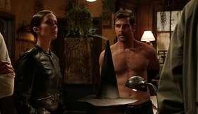 Sasha Roiz & David Giuntoli Shirtless