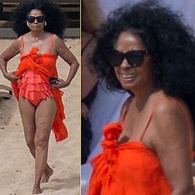Diana Ross in Bikini