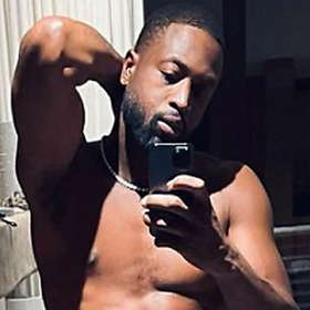 Dwyane Wade is Shirtless
