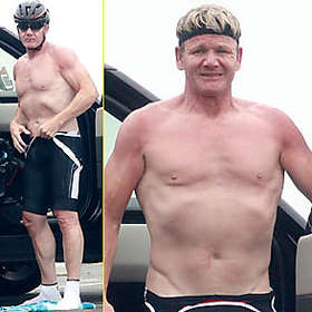 Gordon Ramsay New Shirtless Pic