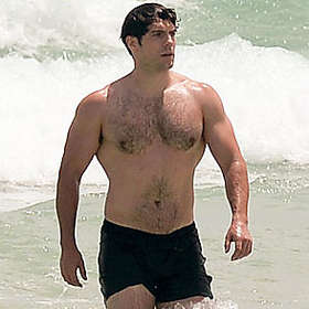 Henry Cavill is Shirtless