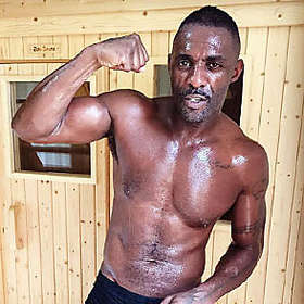 Idris Elba is Shirtless