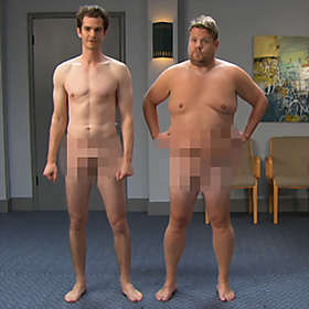 James Corden is Shirtless