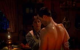 Jim Parsons Shirtless in Big Bang Theory Latest Episode 8×14