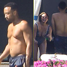 John Legend is Shirtless