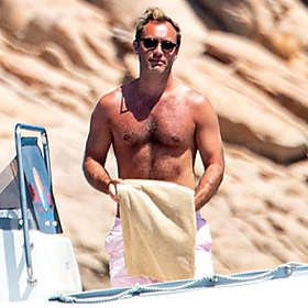 Jude Law is Shirtless
