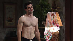 Justin Gaston Shirtless