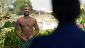 Kendrick Sampson Shirtless