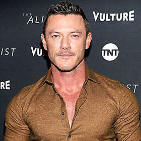 Luke Evans is Shirtless