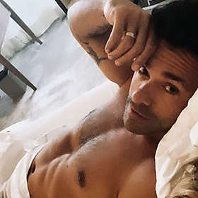 Mark Consuelos is Shirtless